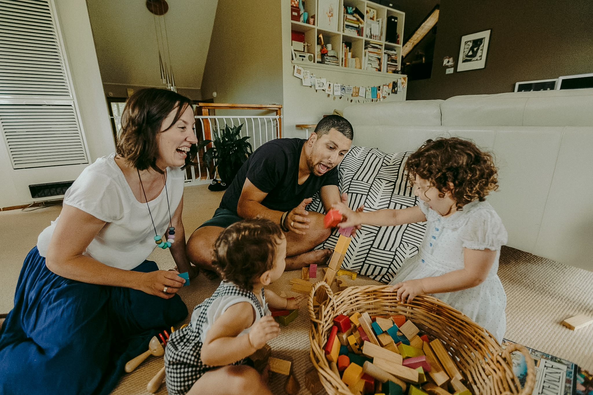 Cute Family Nest Hobart Photographer