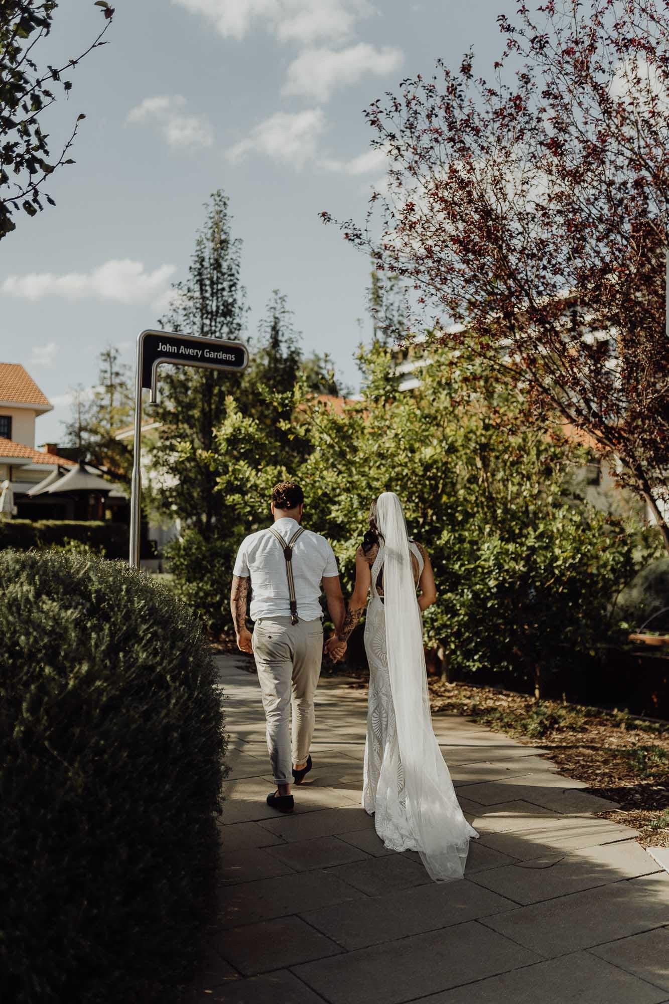 Urban wedding