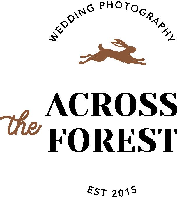 Across the Forest Wedding Photographer Logo