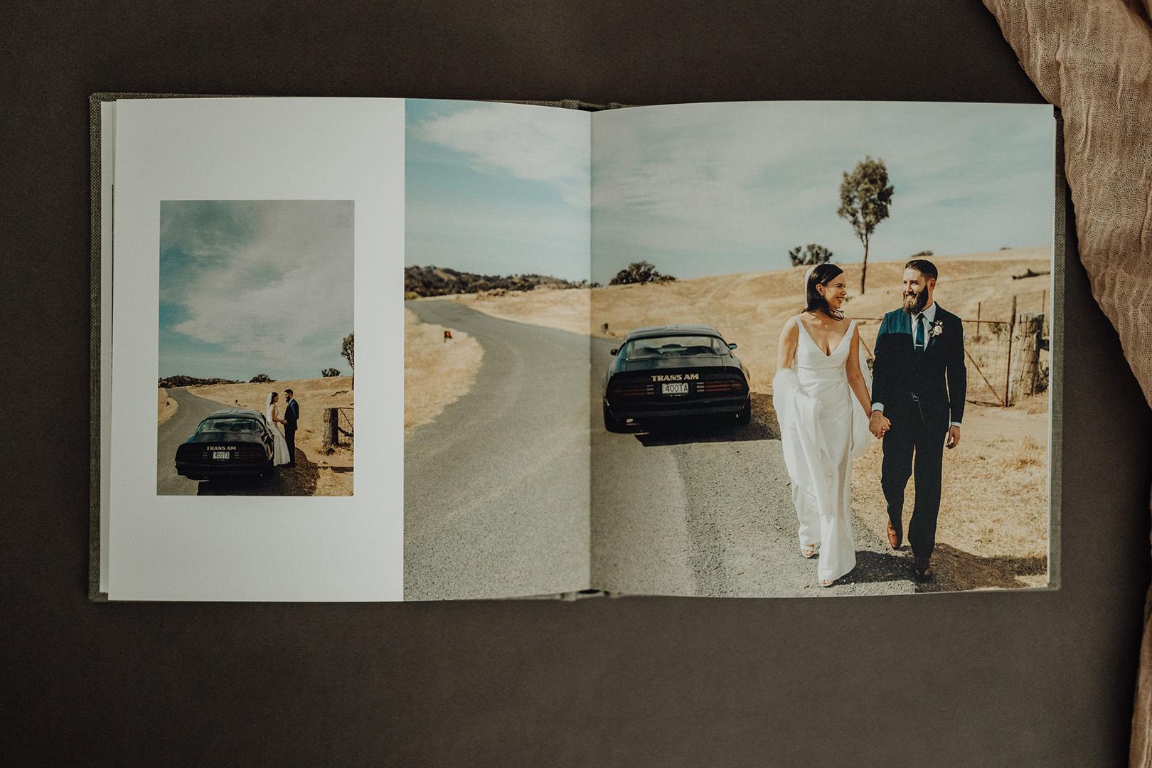 Hobart Photographer Wedding Book