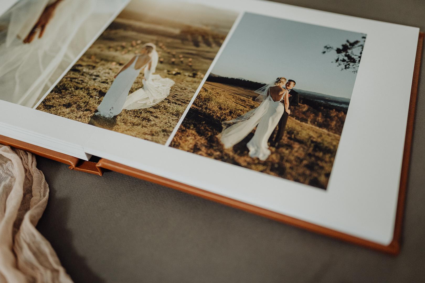 Hobart Photographer Wedding Album