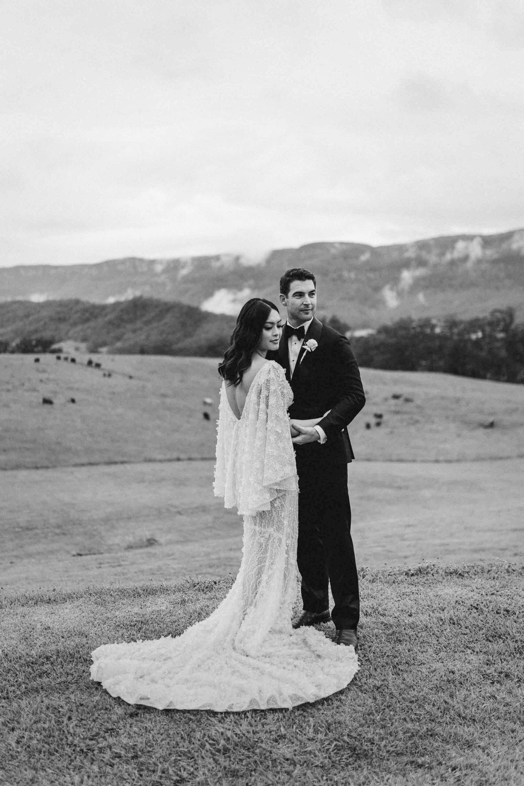 Hobart Rainy Wedding Across the Forest